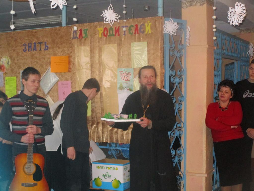Посещение Индустринской основной школы - Свято-Духовский храм с. Шкинь